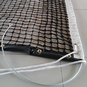 PE Braided Knotted Tennis Net W