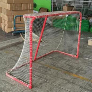 White 4mm Polyester Hockey Net